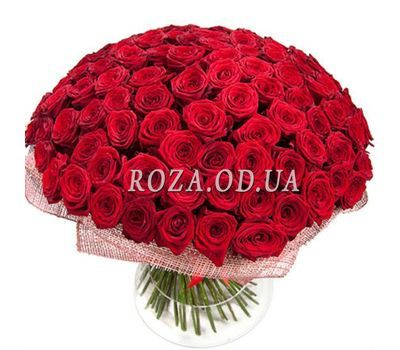 """Bouquet of 121 red roses"" in the online flower shop roza.od.ua"