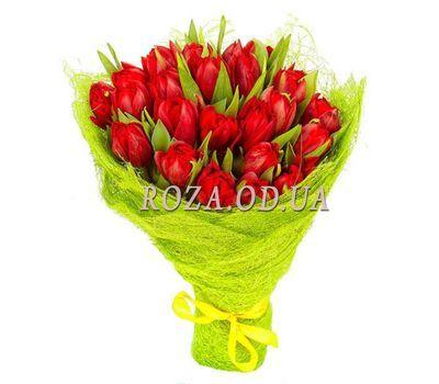 """""""19 красных тюльпанов"""" в интернет-магазине цветов roza.od.ua"""