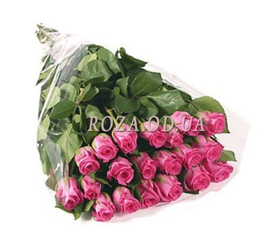 """21 imported pink roses"" in the online flower shop roza.od.ua"