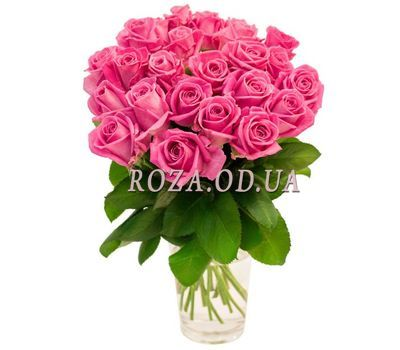 """Bouquet of pink roses"" in the online flower shop roza.od.ua"