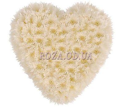 """""""25 хризантем сердце"""" в интернет-магазине цветов roza.od.ua"""