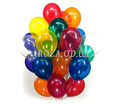 """25 balloons"" in the online flower shop roza.od.ua"