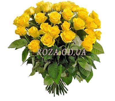 """""""Купити жовті троянди"""" в интернет-магазине цветов roza.od.ua"""