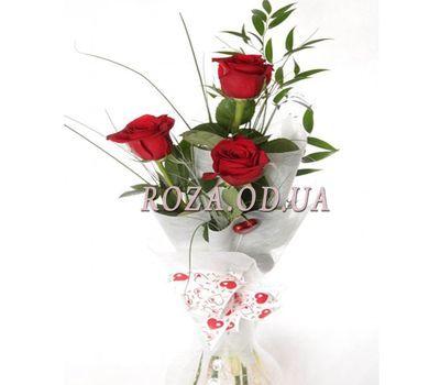 """""""3 импортные розы"""" в интернет-магазине цветов roza.od.ua"""