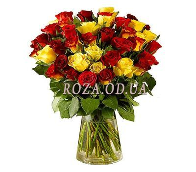 """35 import roses"" in the online flower shop roza.od.ua"