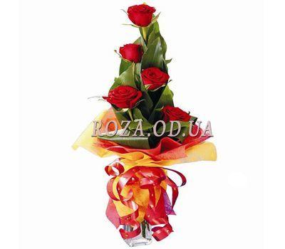 """""""5 импортных роз"""" в интернет-магазине цветов roza.od.ua"""