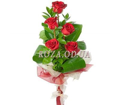"""5 import roses"" in the online flower shop roza.od.ua"