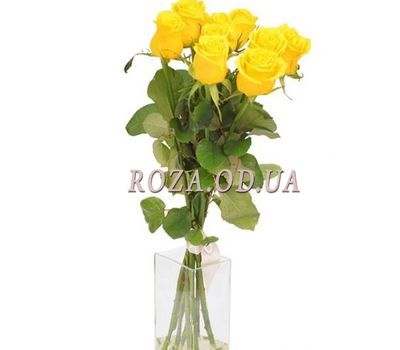 """5 yellow roses"" in the online flower shop roza.od.ua"