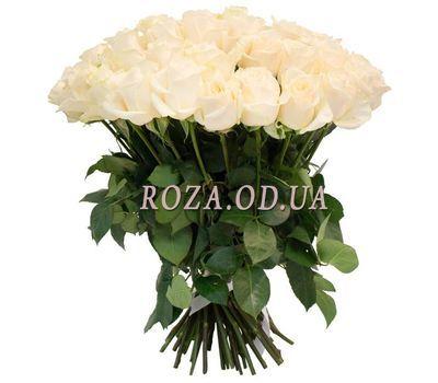 """51 белая роза 60 см"" в интернет-магазине цветов roza.od.ua"