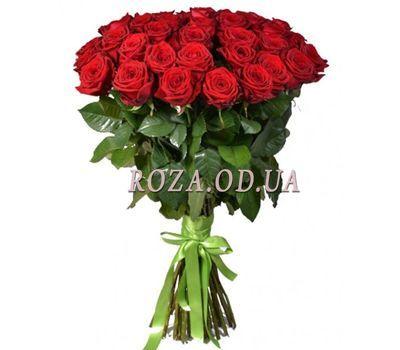 """51 красная роза 80 см"" в интернет-магазине цветов roza.od.ua"