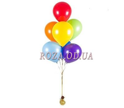 """7 balloons"" in the online flower shop roza.od.ua"