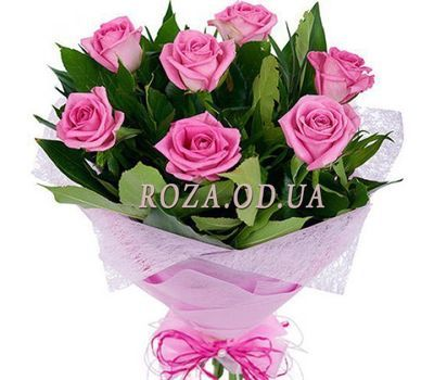 """Букет рожевих троянд"" в интернет-магазине цветов roza.od.ua"