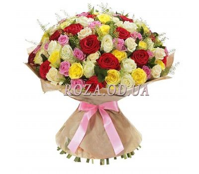 """75 roses 60 cm"" in the online flower shop roza.od.ua"