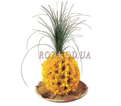 """""""Pineapple of flowers"""" in the online flower shop roza.od.ua"""