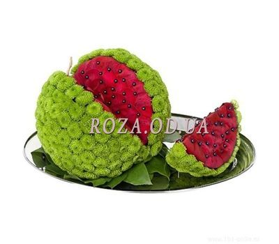 """Watermelon from flowers"" in the online flower shop roza.od.ua"