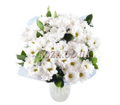 """""""Букет цветов из 15 белых хризантем"""" в интернет-магазине цветов roza.od.ua"""