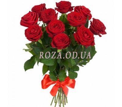 """Bouquet of 11 red roses"" in the online flower shop roza.od.ua"