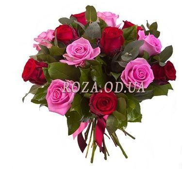 """Bouquet of flowers from roses"" in the online flower shop roza.od.ua"