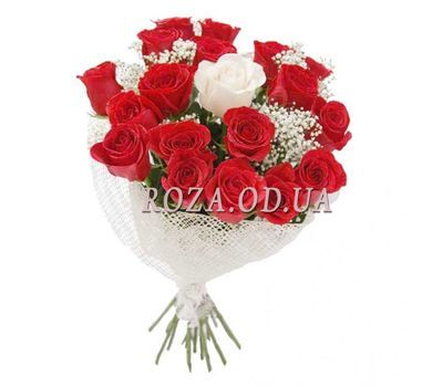 """Bouquet of 19 roses"" in the online flower shop roza.od.ua"