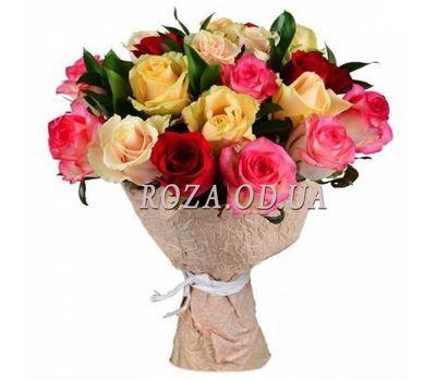 """""""Букет из разноцветных роз"""" в интернет-магазине цветов roza.od.ua"""