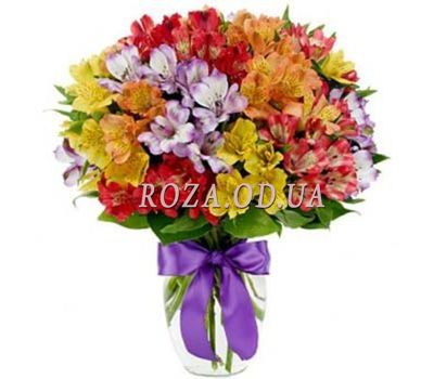 """Bouquet of 35 alstromeries"" in the online flower shop roza.od.ua"