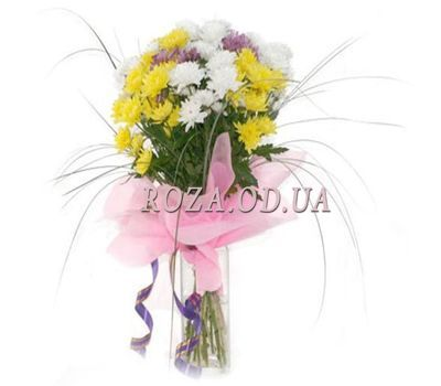 """""""Букет из 7 хризантем"""" в интернет-магазине цветов roza.od.ua"""