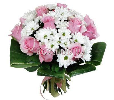 """""""Букет из хризантем и роз"""" в интернет-магазине цветов roza.od.ua"""