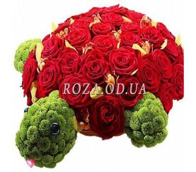 """""""Черепашка из цветов"""" в интернет-магазине цветов roza.od.ua"""