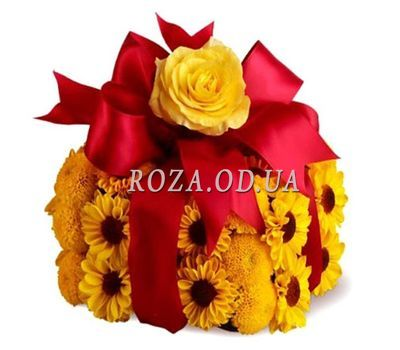 """Flower cake"" in the online flower shop roza.od.ua"