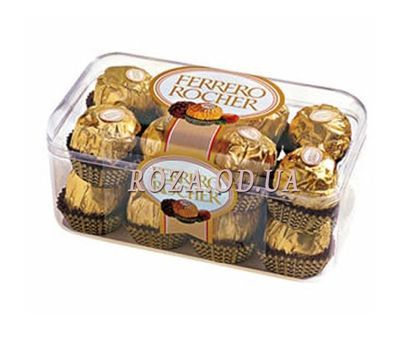 """Ferrero in a plastic box"" in the online flower shop roza.od.ua"