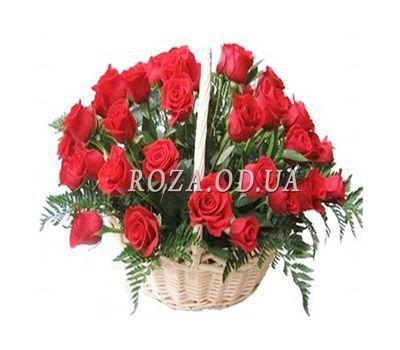 """Basket of 35 roses"" in the online flower shop roza.od.ua"