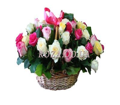 """Basket of 35 roses"" in the online flower shop roza.od.ua"