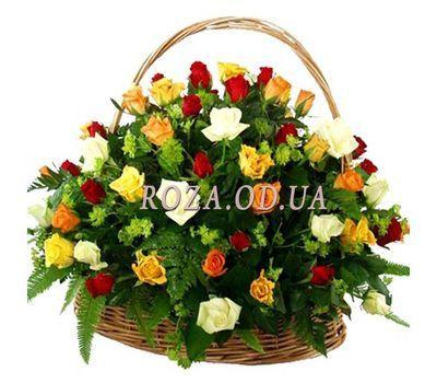 """""""Корзина из 51 розы"""" в интернет-магазине цветов roza.od.ua"""