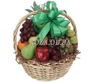 """""""Fruit basket 3-4 kg"""" in the online flower shop roza.od.ua"""