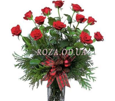 """Bouquet of 15 roses"" in the online flower shop roza.od.ua"