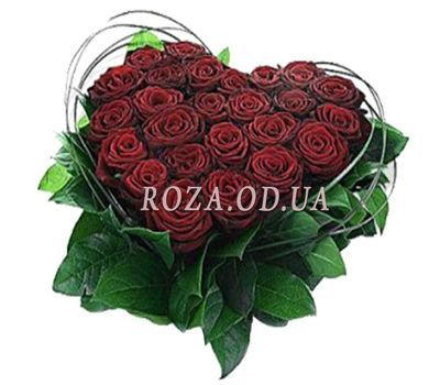 """""""Heart of roses"""" in the online flower shop roza.od.ua"""