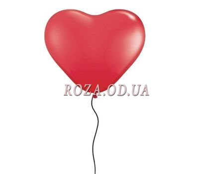 """Heart shaped ball"" in the online flower shop roza.od.ua"