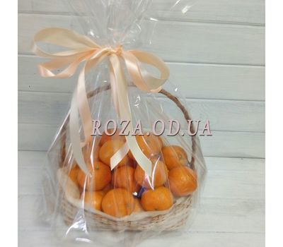 """Basket of tangerines - photo 1"" in the online flower shop roza.od.ua"