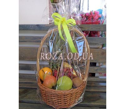 """""""Basket of juicy fruits - photo 1"""" in the online flower shop roza.od.ua"""