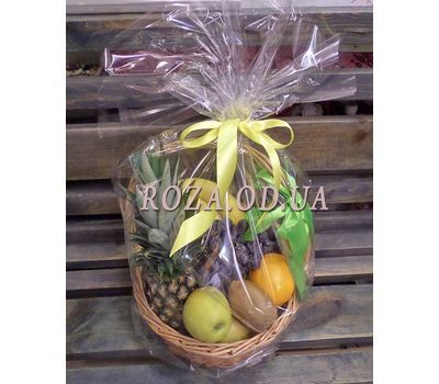 """""""Basket of juicy fruits - photo 4"""" in the online flower shop roza.od.ua"""