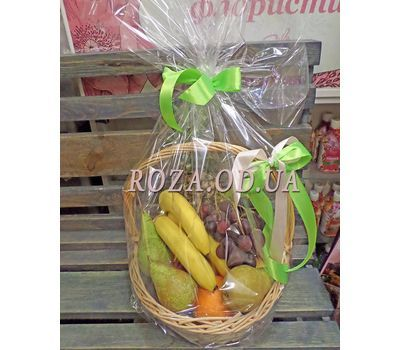 """""""Basket of juicy fruits - photo 5"""" in the online flower shop roza.od.ua"""