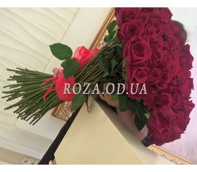 """""""101 imported rose 1m 1"""" in the online flower shop roza.od.ua"""