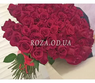 """""""101 imported rose 1m 2"""" in the online flower shop roza.od.ua"""