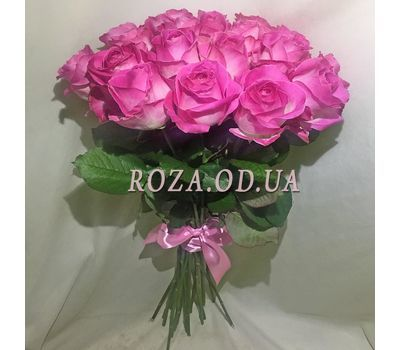 """19 pink roses 1"" in the online flower shop roza.od.ua"
