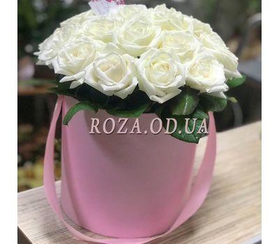 """21 роза в коробке 1"" в интернет-магазине цветов roza.od.ua"