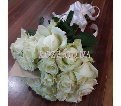 """""""25 белых роз в букете 3"""" в интернет-магазине цветов roza.od.ua"""