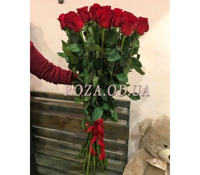 """""""25 import roses 2"""" in the online flower shop roza.od.ua"""