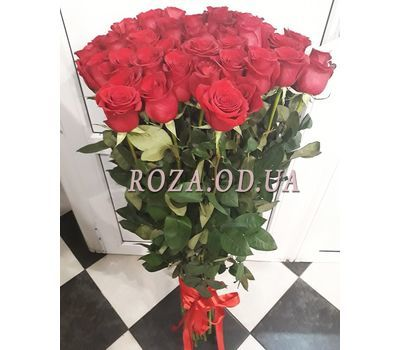 """""""25 import roses 3"""" in the online flower shop roza.od.ua"""