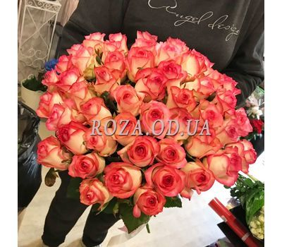 """51 roses Jumilia 5"" in the online flower shop roza.od.ua"
