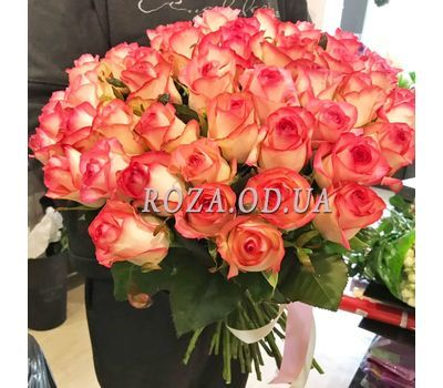 """51 roses Jumilia 6"" in the online flower shop roza.od.ua"